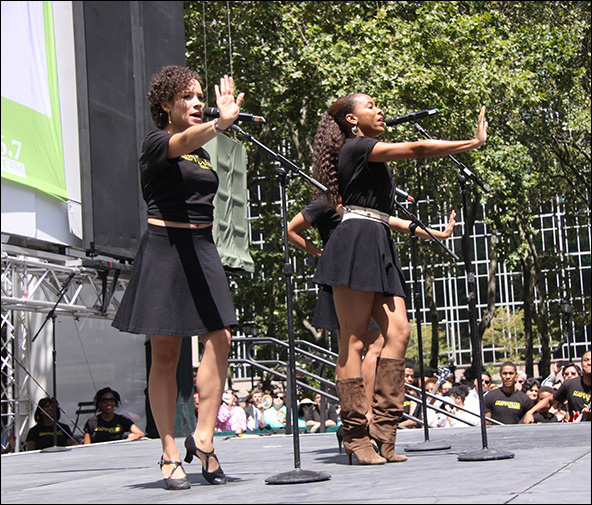 MOTOWN Broadway in Bryant Park